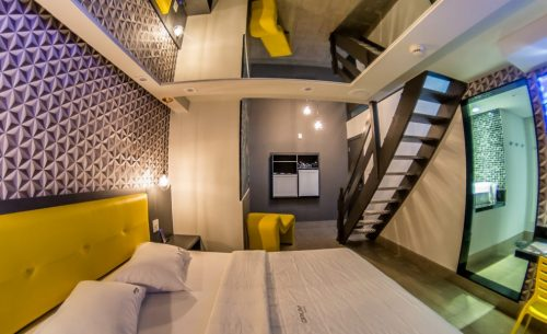Conheça a Suíte Duplex do Opium Motel e garanta já a sua reserva